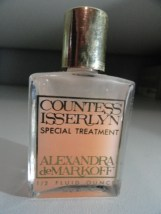 Vintage Perfume Countess Isserlyn Special Treatment .5 Fl Oz Almost Full