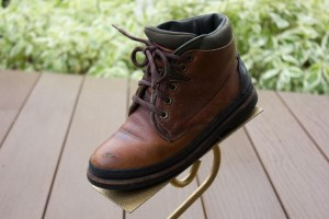 Women's COLE HAAN SPORTING Brown Leather Lace Up Boots Size 6 B Great Cond