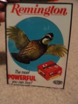 "Remington Quail Magnet DUPONT SHUR SHOT ""The most POWERFUL You Can Buy"" Catalpa"