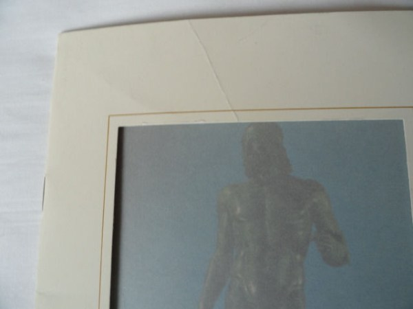 Art Book Catalog Brochure The Warriors of Riace by A. Busignani 1972 15 Pages