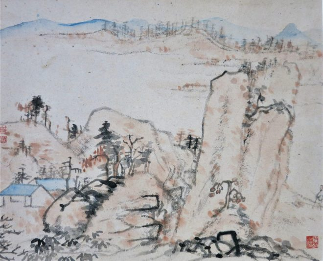 landscape after Shi Tao 石涛