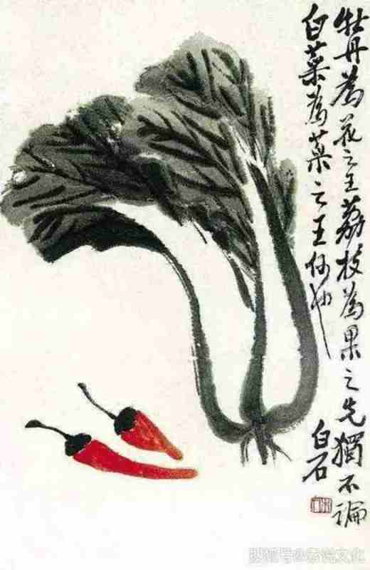 painting by Qi Baishi
