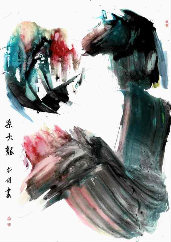 painting kill the mighty dragon