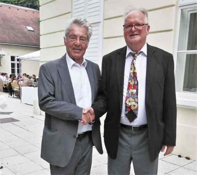 Dr. Heinz Fischer and Friedrich Zettl