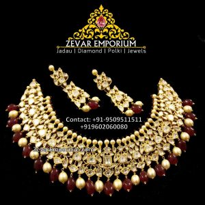 Jadau Necklace Sets