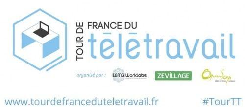 Logo Tour de France teletravail