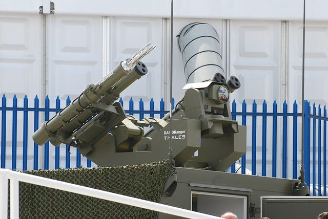 missiles Starstreak de Thales