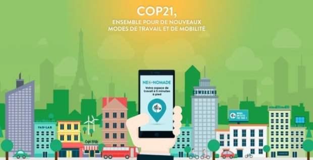 Offre Neo-Nomade pendant la COP21