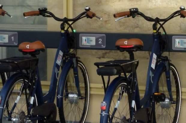 Vélos de Green-on