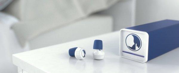 Bouchons d'oreille connectés Hush