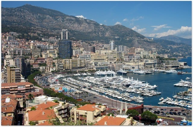 Monaco vue generale