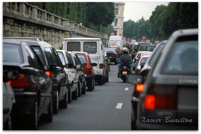 Encombrements dans la Ville de Paris