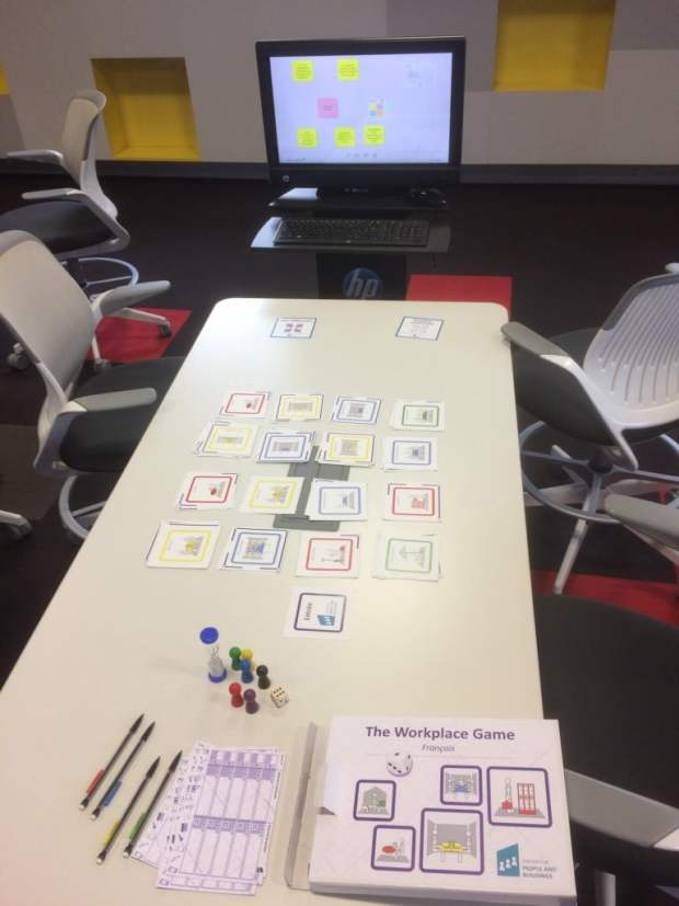 Le Workplace Game, un jeu de plateau collaboratif