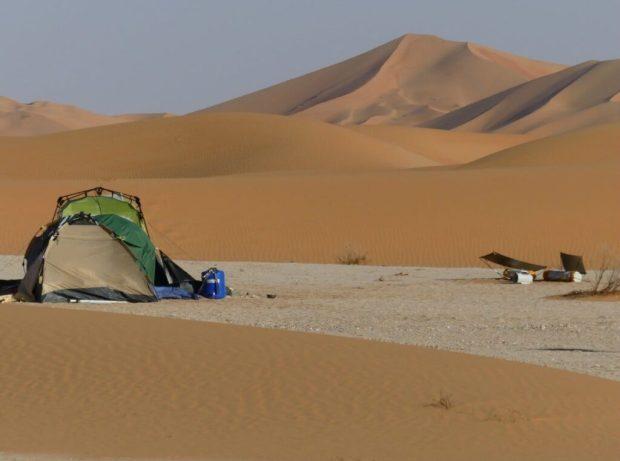 Campement désert - Gauthier Toulemonde