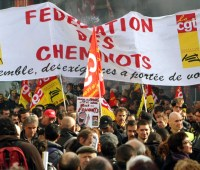Greve SNCF - CGT cheminots