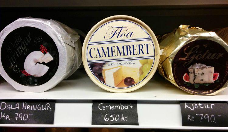 Camembert islandais