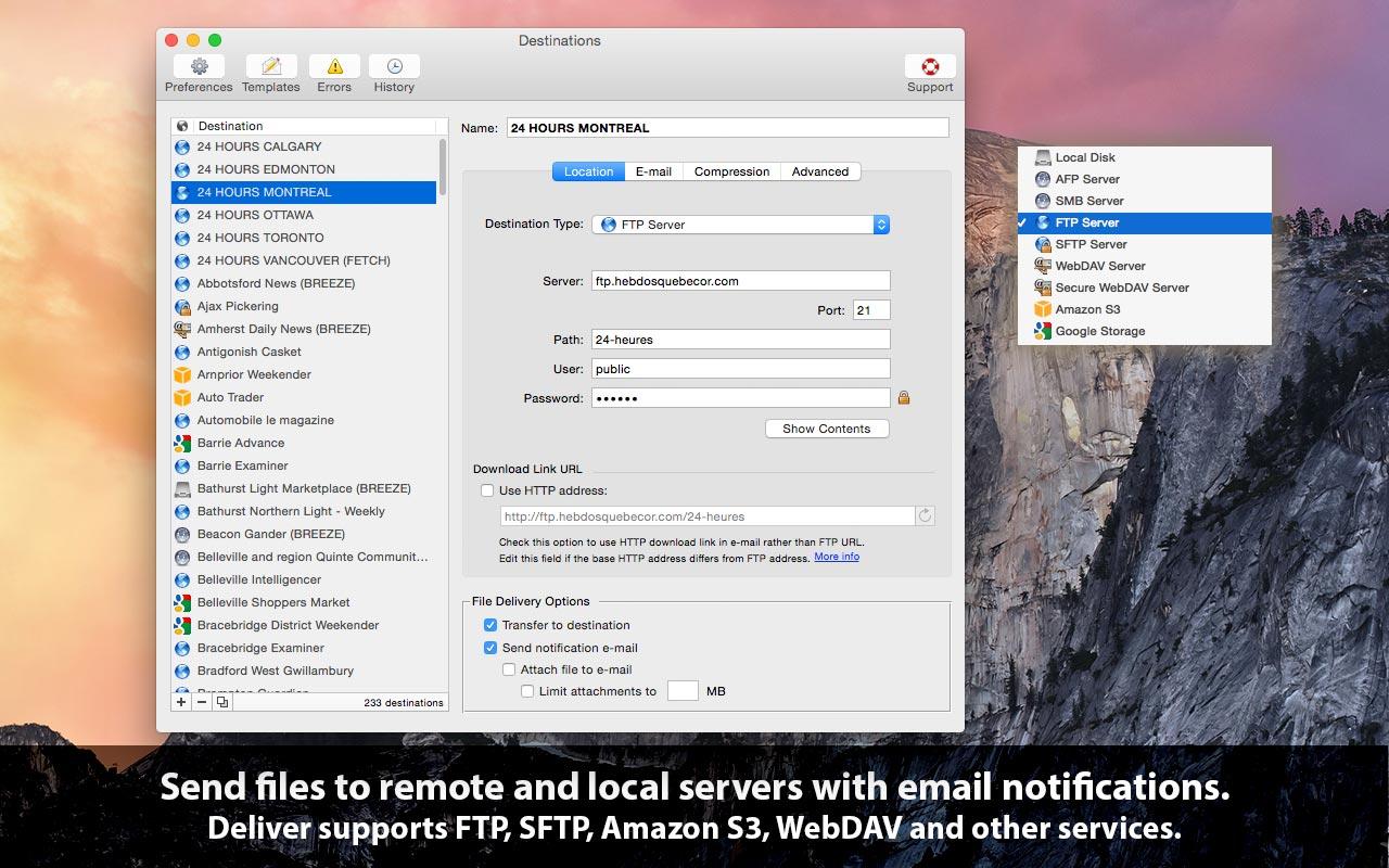 Deliver Express 2.6.19 Mac 破解版 - FTP工具