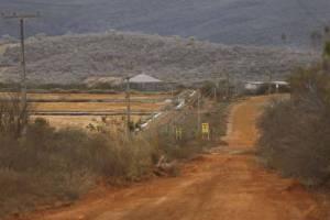 URANIO2  21/08/2015   METROPOLE URANIO/BAHIA  EMBARGO - NAO DILGAR - MATERIA ESPECIAL Entrada de mina de uranio da INB, no distrito de Maniacu, em Caetite, Bahia. FOTO: DIDA SAMPAIO/ESTADAO