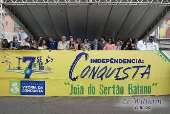 """""""Independência: Conquista, """"Joia do Sertão Baiano""""."""