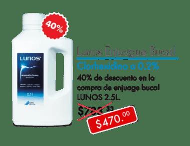 Durr Lunos Enjuague Bucal 2.5 L