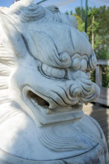 lion gardien impérial