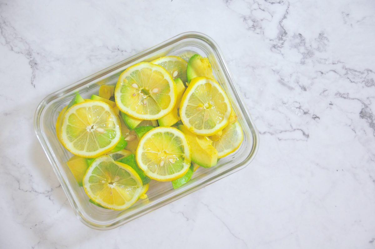 檸檬漬酪梨