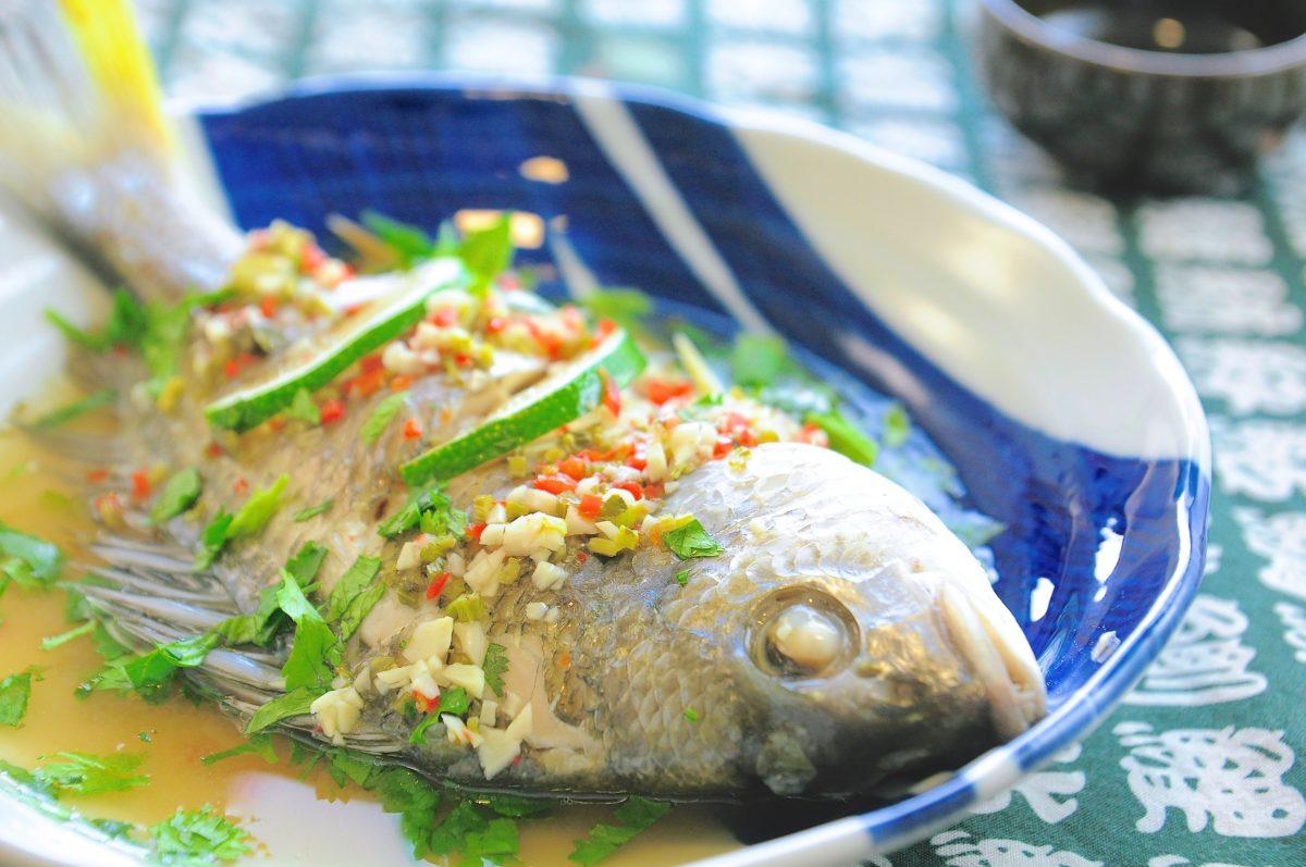 王媽的泰式清蒸檸檬魚