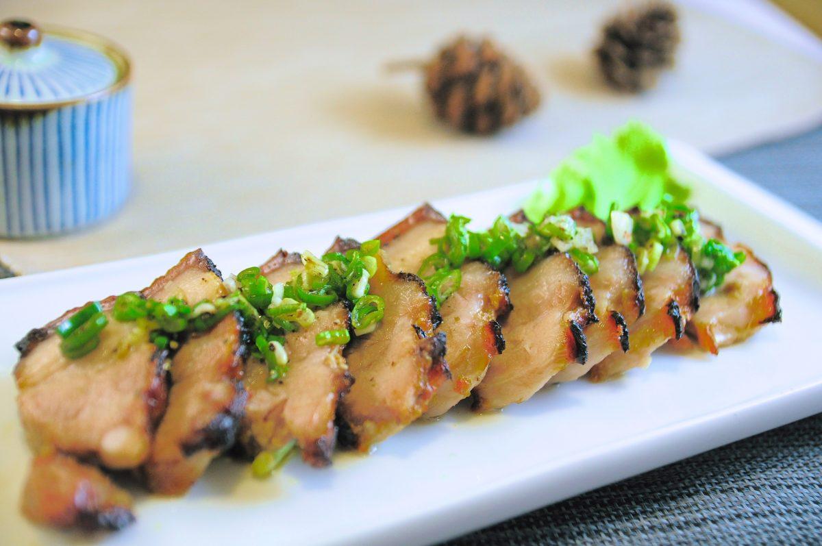 鹽麴料理:烤五花