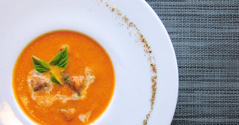 基礎法式湯品:牛肉番茄濃湯