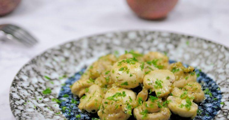 奶油香蒜蘑菇