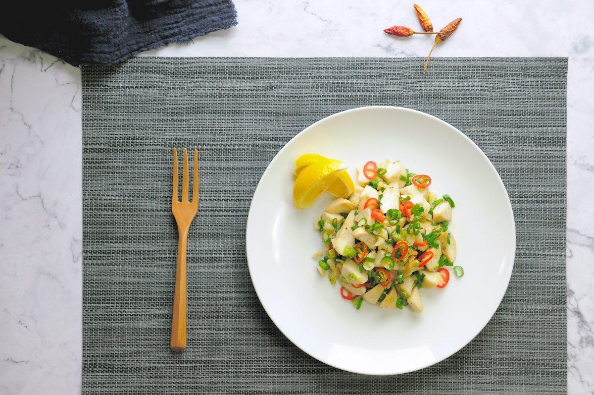 杏鮑菇的挑選與切法:椒鹽杏鮑菇