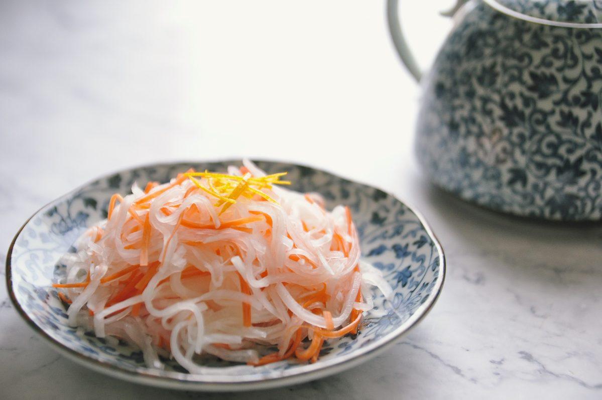 常備菜:醋漬蘿蔔絲( 紅白なます )