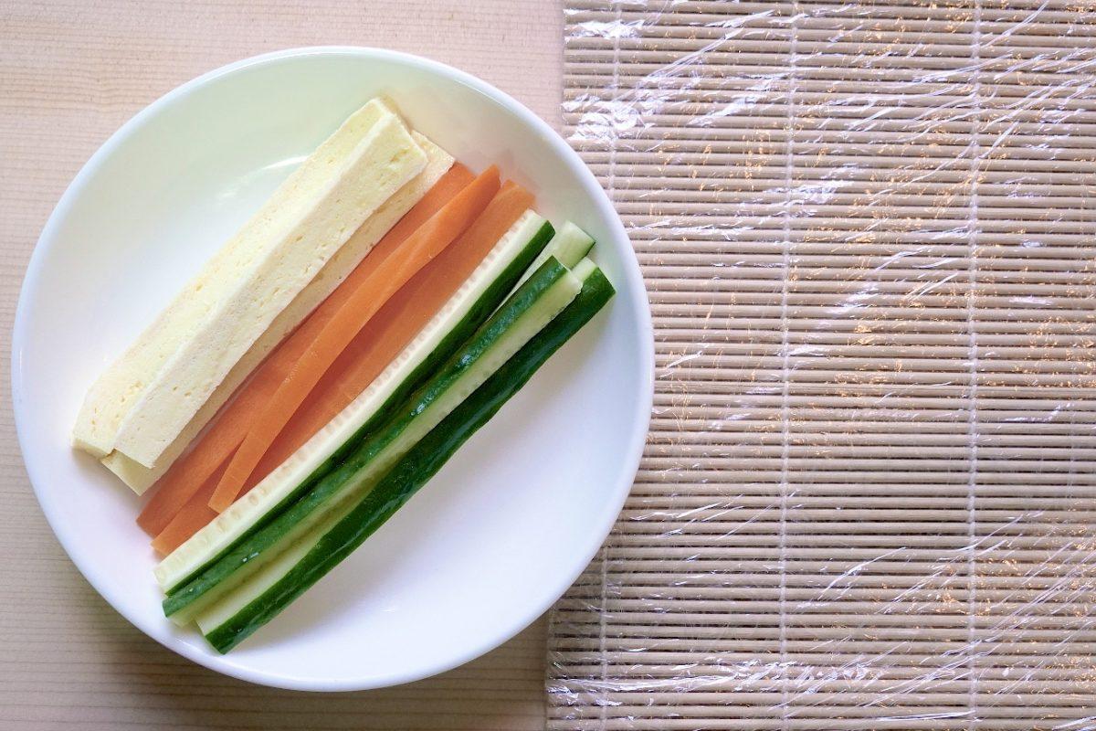 用平底鍋煎玉子燒(厚蛋條、蛋塊做法)