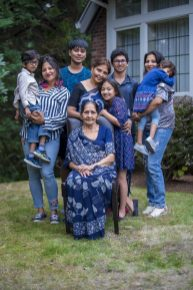 Tulika's family