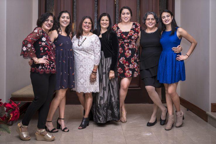 Sheela's family Thanksgiving