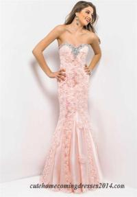 blush long prom dresses 2015 | zfcleanner