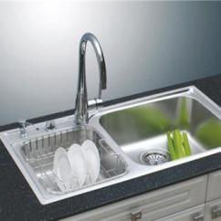 Rustic Kitchen Sink Kohler Single Handle Faucet 厨房水槽什么牌子好水槽尺寸及价格 厨房水槽分类 按材料分铸铁搪瓷 陶瓷 不锈钢 人造石 钢板珐琅 亚克力 结晶石水槽等 按款式分单盆 双盆 大小双盆 异形双盆等