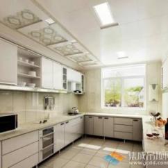 Kitchen Ceiling Fixtures Shelving Unit 铝扣天花板花样繁多 卫浴 厨房装修时如何选择 厨房天花板固定装置