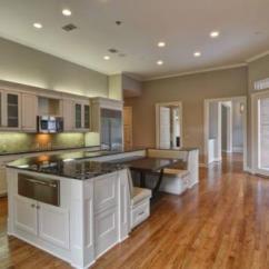 Wood Floors In Kitchen Buffet Cabinets 攻略 如何让厨房装木地板美观又实用 厨房的木地板