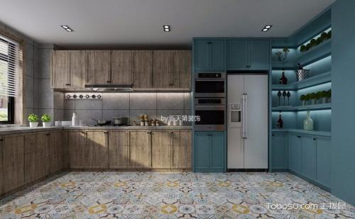 tile flooring kitchen single handle faucet with sprayer 瓷砖地板搭配台面厨房设计 www thetupian com 地砖地板搭配台面厨房设计jpg x