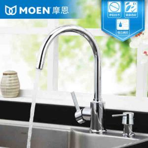 moen kitchen sink faucets round formica table 摩恩水龙头好吗摩恩水龙头介绍 摩恩和toto的水龙头哪个更好