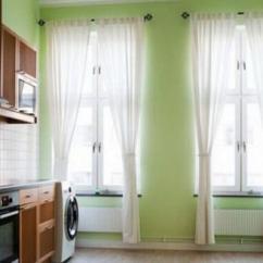 Kitchen Curtain Mats 厨房窗帘选哪种材质好 厨房窗帘