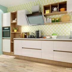 Kitchen Bath Design White Shaker Cabinets 五款厨房橱柜设计隔板案例分享 厨房浴室设计