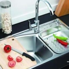 Kitchen Sink Mats Cabinet Cleaner Recipe 水槽选择全攻略 如何选购 厨房水槽垫