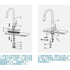 3 Hole Kitchen Faucets Island Chandeliers 厨房水龙头安装方法介绍 3孔厨房龙头