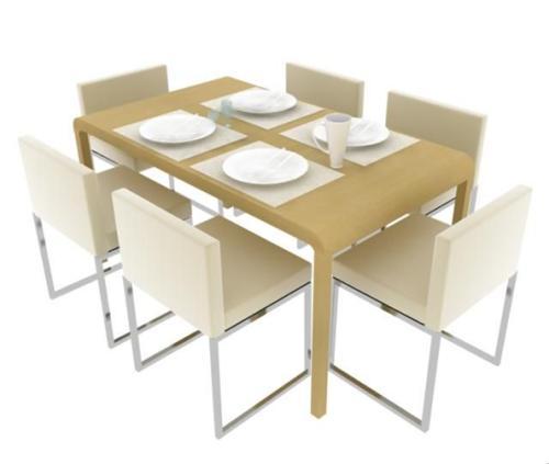 6人餐桌尺寸規格一般是多少