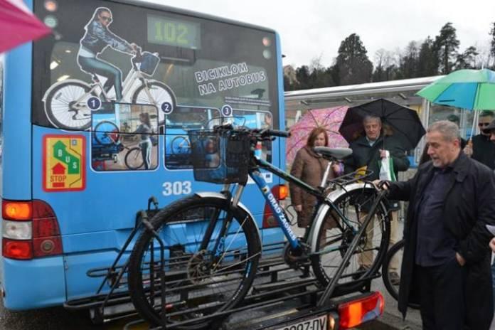 ZET - Bicklom na autobus