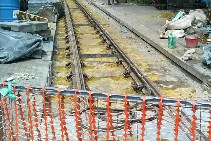 Radovi - tramvajska pruga