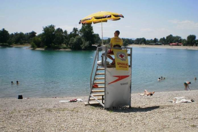Jezero Jarun - spasilac