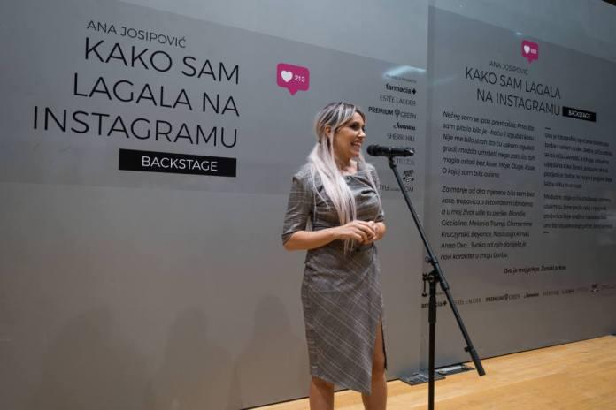 Ana Josipović; Kako sam lagala na Instagramu